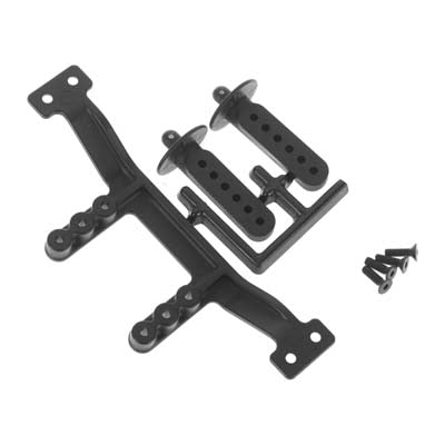 RPM 81142 Adjustable Rear Body Mount/Posts: Traxxas 1/10 Slash 2wd and Stampede
