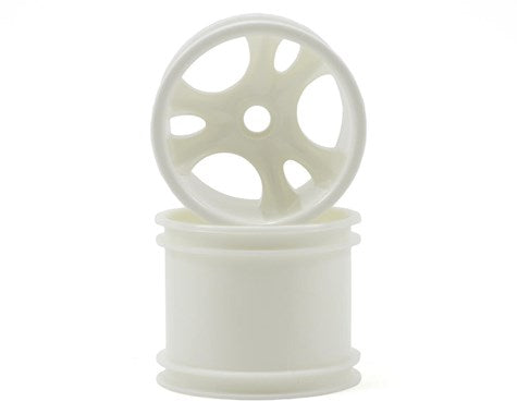 RPM 81821 Front Clawz Wheels, White