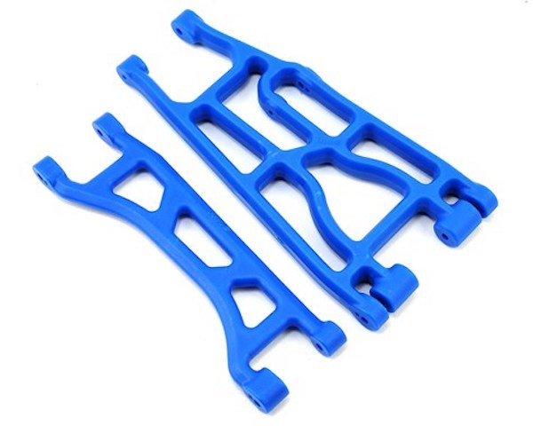 RPM 82355 Upper & Lower A-arm Pair, Blue: Traxxas X-Maxx
