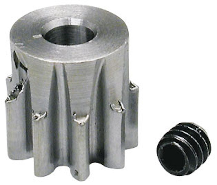 RRP 0090 Pinion Gear 32P/Pitch 9T/Tooth 1/8 Bore - Steel Alloy