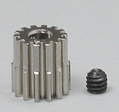 RRP 1014 Pinion Gear 14T/Tooth 48P/Pitch 1/8 Bore - Nickel Plated Steel