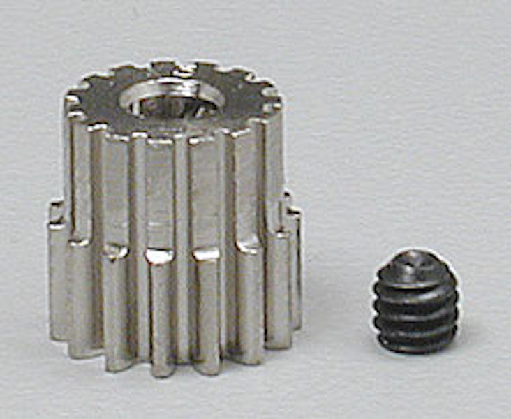 RRP 1015 Pinion Gear 15T/Tooth 48P/Pitch 1/8 Bore - Nickel Plated Steel