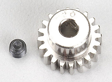 RRP 1020 Pinion Gear 20T/Tooth 48P/Pitch 1/8 Bore - Nickel Plated Steel