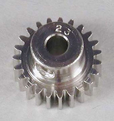 RRP 1023 Pinion Gear 23T/Tooth 48P/Pitch 1/8 Bore - Nickel Plated Steel