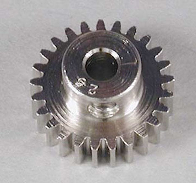RRP 1025 Pinion Gear 25T/Tooth 48P/Pitch 1/8 Bore - Nickel Plated Steel