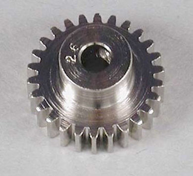 RRP 1026 Pinion Gear 26T/Tooth 48P/Pitch 1/8 Bore - Nickel Plated Steel
