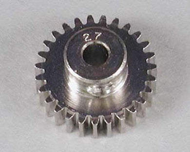 RRP 1027 Pinion Gear 27T/Tooth 48P/Pitch 1/8 Bore - Nickel Plated Steel