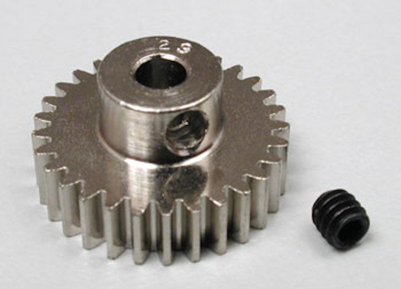 RRP 1029 Pinion Gear 29T/Tooth 48P/Pitch 1/8 Bore - Nickel Plated Steel