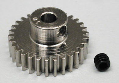 RRP 1030 Pinion Gear 30T/Tooth 48P/Pitch 1/8 Bore - Nickel Plated Steel