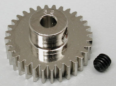 RRP 1032 Pinion Gear 32T/Tooth 48P/Pitch 1/8 Bore - Nickel Plated Steel