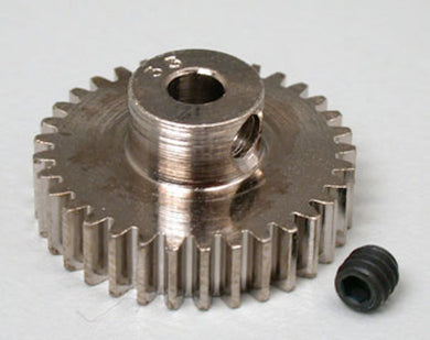 RRP 1033 Pinion Gear 33T/Tooth 48P/Pitch 1/8 Bore - Nickel Plated Steel
