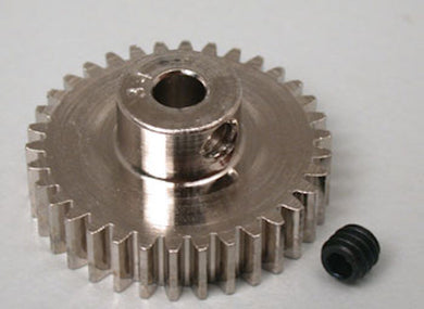 RRP 1034 Pinion Gear 34T/Tooth 48P/Pitch 1/8 Bore - Nickel Plated Steel