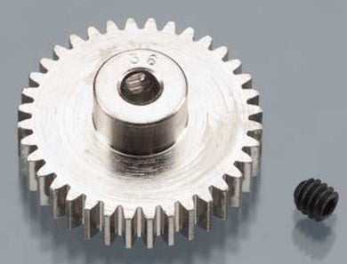 RRP 1036 Pinion Gear 36T/Tooth 48P/Pitch 1/8 Bore - Nickel Plated Steel