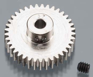 RRP 1037 Pinion Gear 37T/Tooth 48P/Pitch 1/8 Bore - Nickel Plated Steel