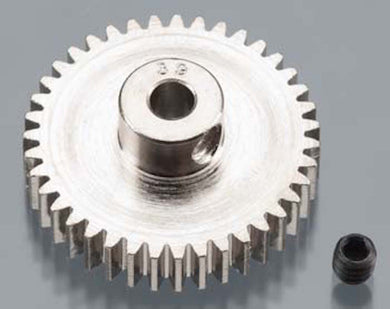 RRP 1039 Pinion Gear 39T/Tooth 48P/Pitch 1/8 Bore - Nickel Plated Steel