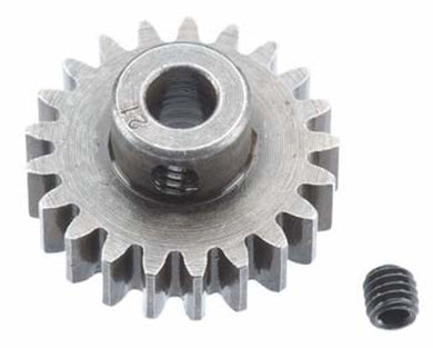 RRP 1221 Pinion Gear 5mm Bore 1mod 21T/Tooth - Extra Hard High Carbon Steel