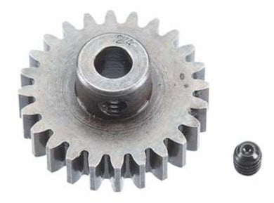 RRP 1224 Pinion Gear 5mm Bore 1mod 24T/Tooth - Extra Hard High Carbon Steel