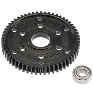 RRP 1549 Steel 56T Stock Replacement 32P Gear, Black: Axial SCX10, SMT10