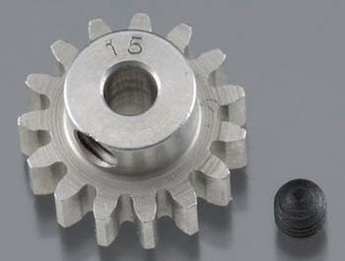 RRP 1715 Pinion Gear 1/8 Bore 32P 15T - Super Hard Absolute Steel
