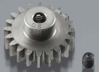 RRP 1720 Pinion Gear 1/8 Bore 32P 20T - Super Hard Absolute Steel