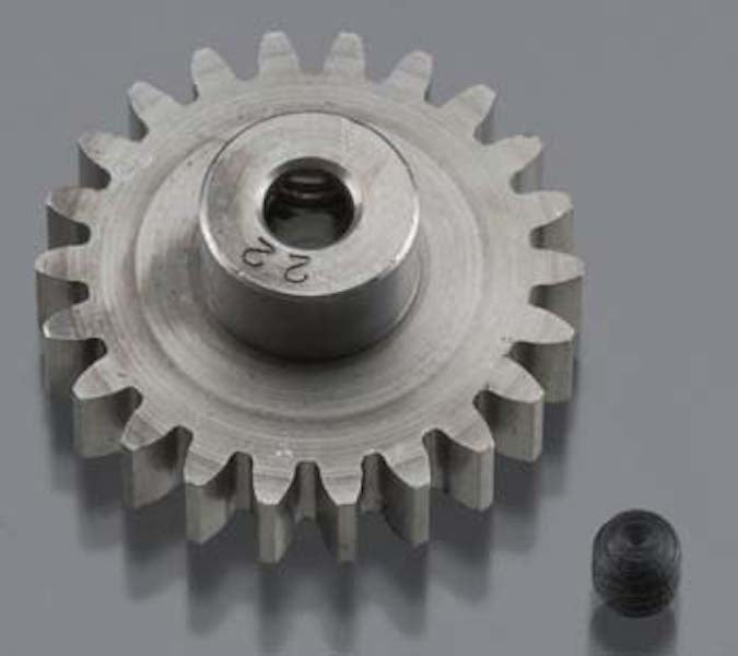 RRP 1722 Pinion Gear 1/8 Bore 32P 22T - Super Hard Absolute Steel