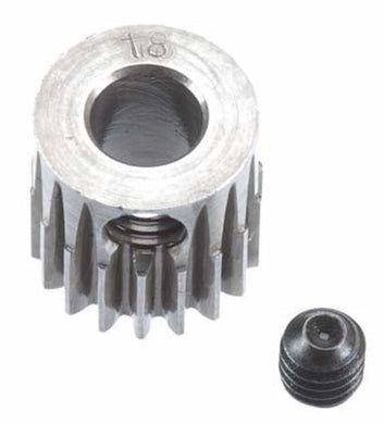 RRP 2018 Pinion Gear 5mm Bore 48P 18T - Machined Hard Steel