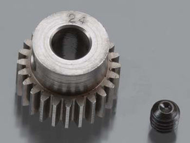 RRP 2024 Pinion Gear 5mm Bore 48P 24T - Machined Hard Steel