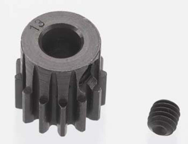 RRP 8613 Extra Hard 13T Blackened Steel 32P/Pitch Pinion 5mm