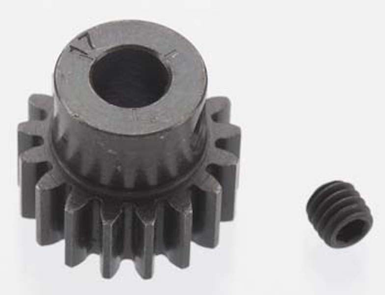 RRP 8617 Extra Hard 17T Blackened Steel 32P/Pitch Pinion 5mm