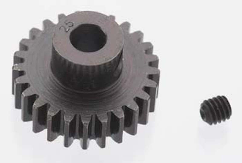 RRP 8625 Extra Hard 25T Blackened Steel 32P/Pitch Pinion 5mm