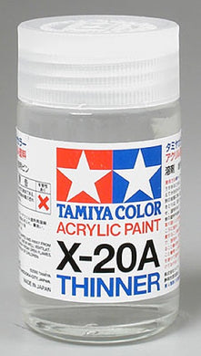 Tamiya 81030 Acrylic/Poly Thinner X-20A 46ml
