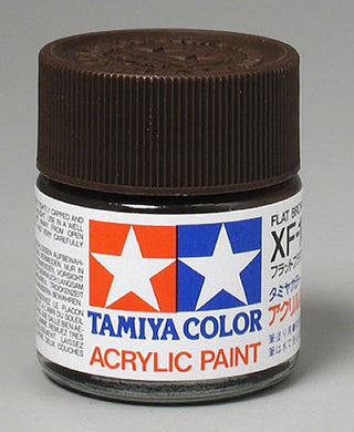 Tamiya 81310 Acrylic Paint 23ml XF-10 Flat, Brown