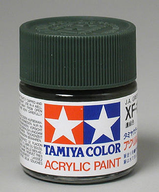 Tamiya 81311 Acrylic Paint 23ml XF-11 Flat, Jungle Green