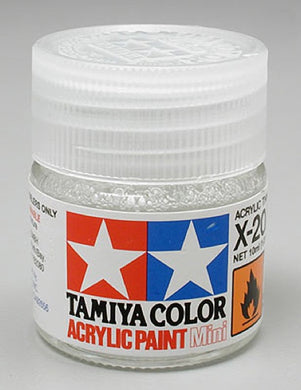 Tamiya 81520 Acrylic Paint 10ml Mini X-20A Thinner