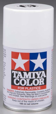 Tamiya 85026 Spray Lacquer 100ml Can TS-26 Pure White
