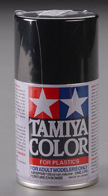 Tamiya 85040 Spray Lacquer 100ml Can TS-40 Metal Black