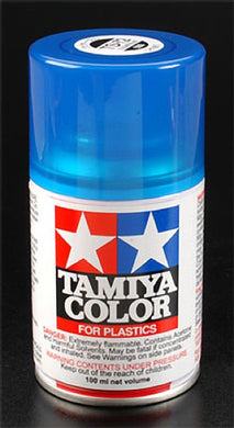 Tamiya 85072 Spray Lacquer 100ml Can TS-72 Clear Blue