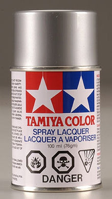 Tamiya 86012 Polycarbonate RC Body Paint 100ml Spray Can PS-12 Silver