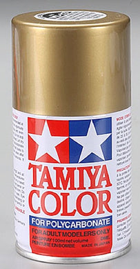 Tamiya 86013 Polycarbonate RC Body Paint 100ml Spray Can PS-13 Gold