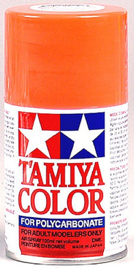 Tamiya 86020 Polycarbonate RC Body Paint 100ml Spray Can PS-20 Fluorescent Red