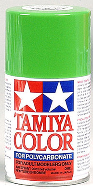 Tamiya 86021 Polycarbonate RC Body Paint 100ml Spray Can PS-21 Park Green