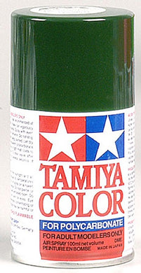 Tamiya 86022 Polycarbonate RC Body Paint 100ml Spray Can PS-22 Racing Green