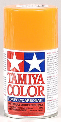 Tamiya 86024 Polycarbonate RC Body Paint 100ml Spray Can PS-24 Fluorescent Orange