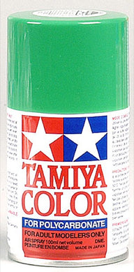Tamiya 86025 Polycarbonate RC Body Paint 100ml Spray Can PS-25 Bright Green
