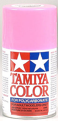 Tamiya 86029 Polycarbonate RC Body Paint 100ml Spray Can PS-29 Fluorescent Pink