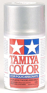 Tamiya 86036 Polycarbonate RC Body Paint 100ml Spray Can PS-36 Translucent Silver