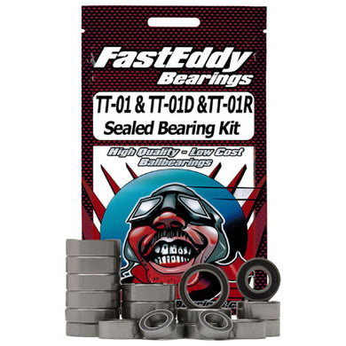 Fast Eddy Bearings TFE1389 Sealed Bearing Kit: Tamiya TT-01 Chassis