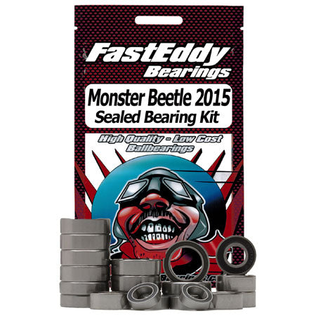 Fast Eddy Bearings TFE4151 Sealed Bearing Kit: Tamiya Monster Beetle '15