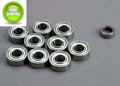 Traxxas TRA1259 Ball Bearing Set: 5x11x4mm (9)/ 5x8x2.5mm (1)