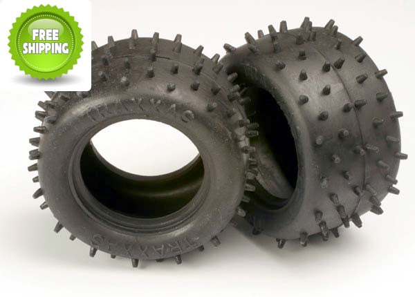 Traxxas TRA1970 Low Profile Spike Tire(2): Stampede Rustler Monster Jam Nitro Sport